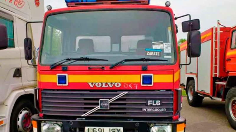 Nuevo camión para los Bomberos Voluntarios de Victoria