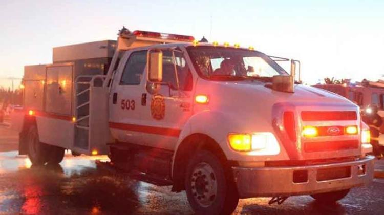 Toque de sirena a un año de la muerte de un bombero
