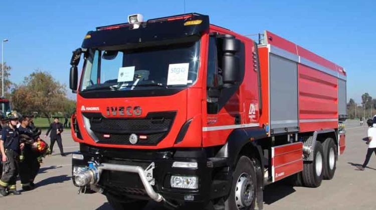 Licitación de Camiones Aljibes para Bomberos de Chile