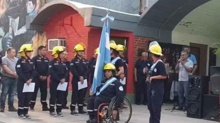 Bomberos de Añatuya cuenta con nuevos bomberos y bomberas