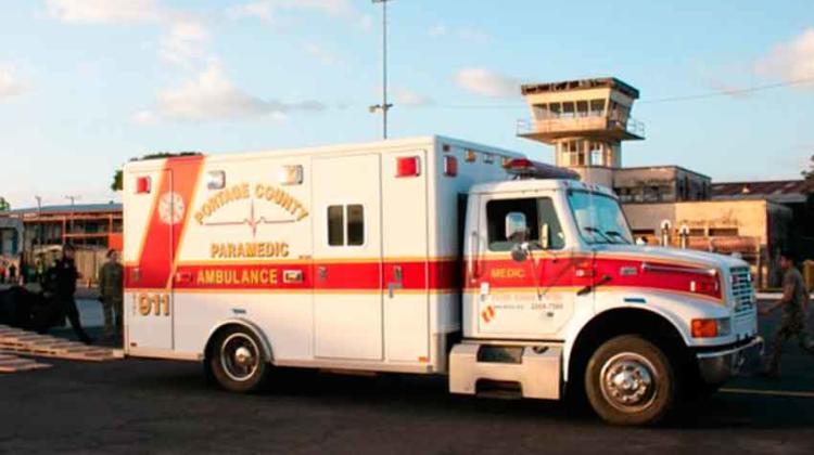 Estados Unidos dona ambulancias y camiones de bomberos a Nicaragua