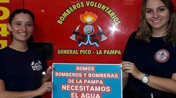 """Bomberos Voluntarios: Campaña """"Por los ríos de La Pampa"""""""