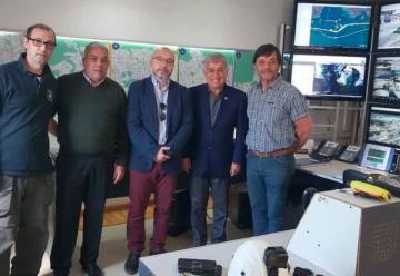 El presidente del CNBV fue recibido por el municipio de Ushuaia