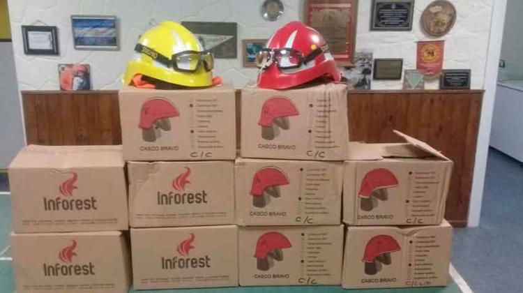 Bomberos Voluntarios de Claromecó con nuevos equipos