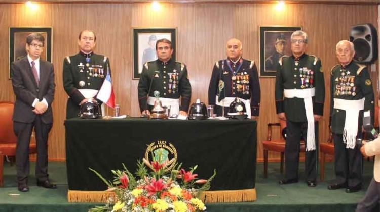 Primera Compañía de Bomberos celebra 138 años con emotiva ceremonia