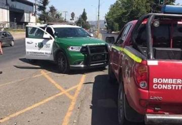 Carabineros recuperó la camioneta robada a bomberos