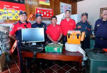 Bomberos de Nicaragua reciben donativo desde Hamburgo