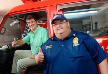 Bomberos de Santa Marta recibió nueva maquina