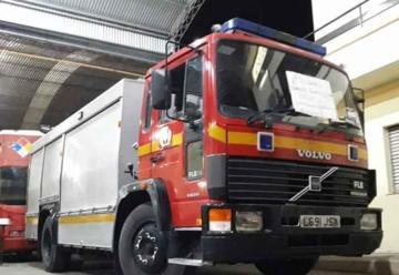 Bomberos Voluntarios de Victoria con nuevo camión