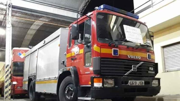 Bomberos Voluntarios de Victoria con nuevo camion