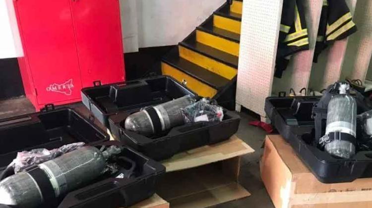 Nuevo equipamiento adquirido por Bomberos de Río Grande