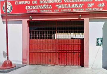 Cortan servicio de agua a bomberos en Sullana por falta de pago