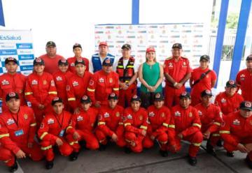 Bomberos del Perú tendrán atención médica de parte de EsSalud
