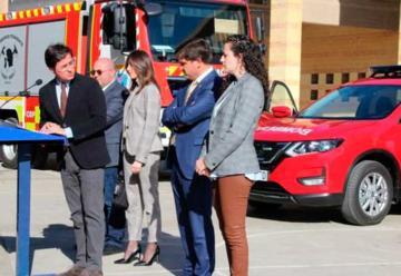 Bomberos del Poniente incorpora tres nuevos vehículos a su flota