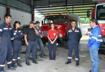 Defensa Civil supervisó cuarteles de bomberos voluntarios en Salta