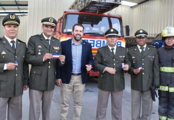 Bomberos de Antofagasta cuenta con una nueva unidad