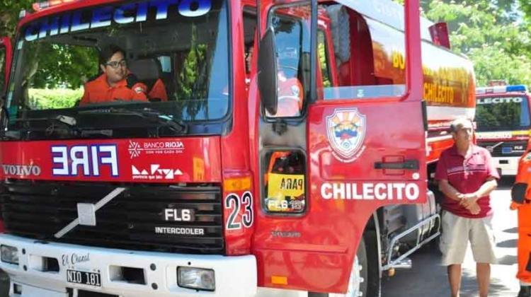 Bomberos Voluntarios de Chilecito recibió un camión cisterna