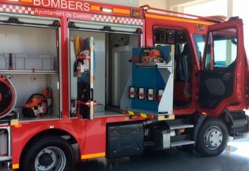 Un bombero de Castelló da positivo en coronavirus