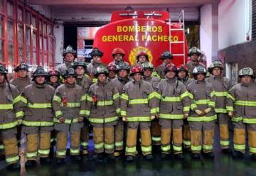 Bomberos de General Pacheco con nuevos equipos