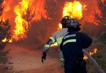 Bombero electrocutado mientras trabajaba en un incendio forestal