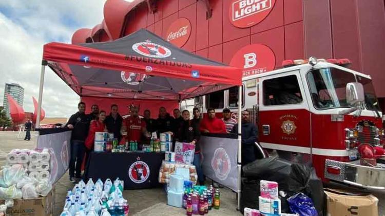 Recibe Bomberos Tijuana importante donativo
