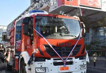 Antofagasta recibiómaterial mayor para la Segunda Compañía