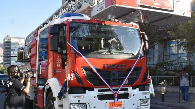 Antofagasta recibió material mayor para la Segunda Compañía