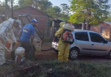 Bomberos Voluntarios se suman a la lucha contra el dengue