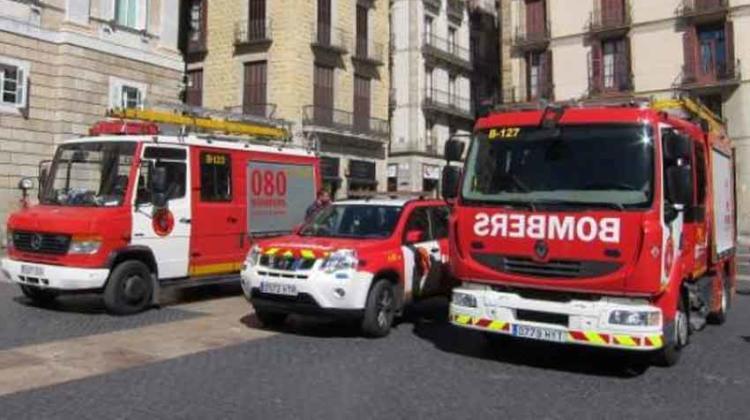 Un bombero es el séptimo contagiado en el El Ayuntamiento de Barcelona