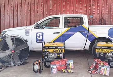 Fundación Ocupa dona equipo a Bomberos