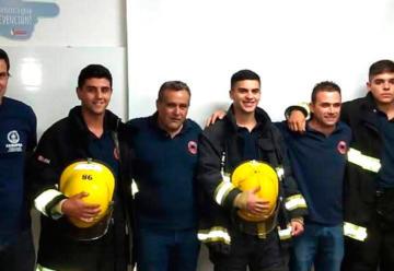 Bomberos Voluntarios de Chacabuco con nueva indumentaria