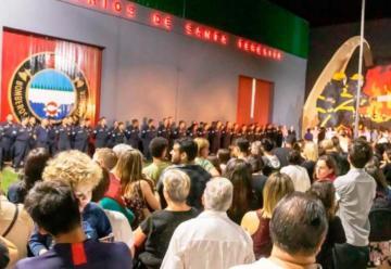 Bomberos Voluntarios de Santa Teresita celebraron su 50° aniversario