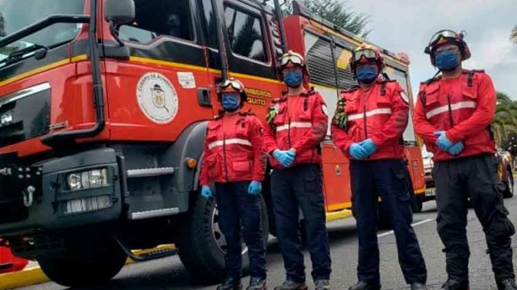 12 bomberos en aislamiento por atender posible contagiado de coronavirus