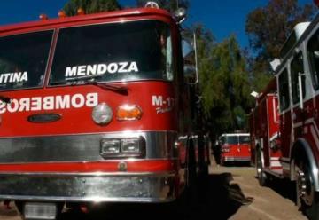 Entraron a robar al cuartel de bomberos de Guaymallén