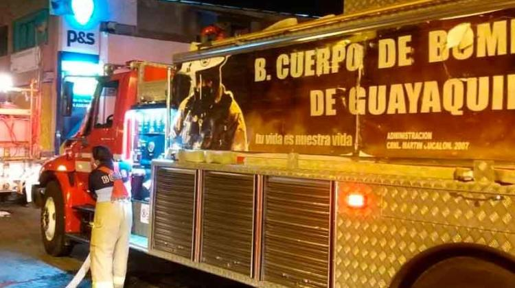 Bombero de Guayaquil fallece por Covid-19
