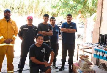 Bomberos de Tinogasta recibió equipamiento e insumos
