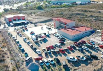 Inauguran en Saltillo la Estación Poniente de Bomberos