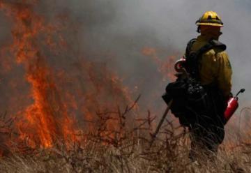 Falleció bombero que sofocaba incendio forestal