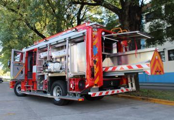 Nueva autobomba de los Bomberos de Puerto Madryn