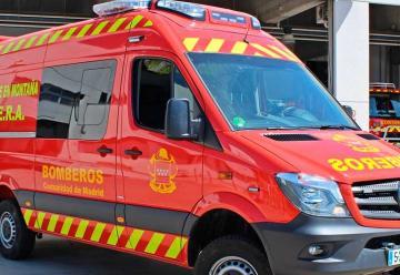 Bomberos de Madrid adapta furgones para recoger difuntos
