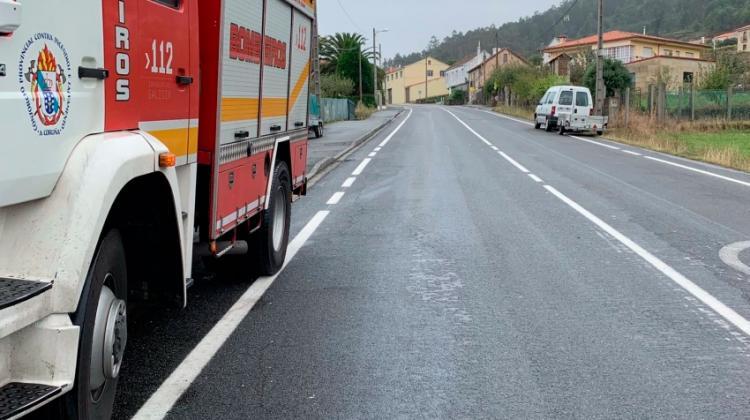 Fallece el jefe de bomberos de Arzúa tras volver de tareas de desinfección