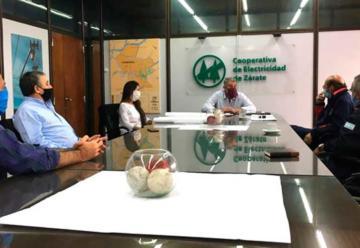 Cooperativa cedió predio para Bomberos Voluntarios de Zárate