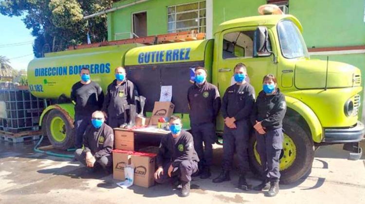 El Rotary Club realizó donación a los Bomberos de Gutiérrez