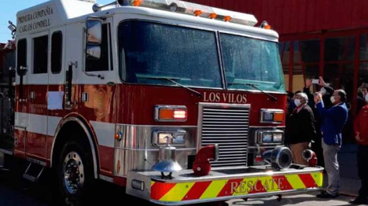 Bomberos de Los Vilos inauguró nueva unidad de rescate