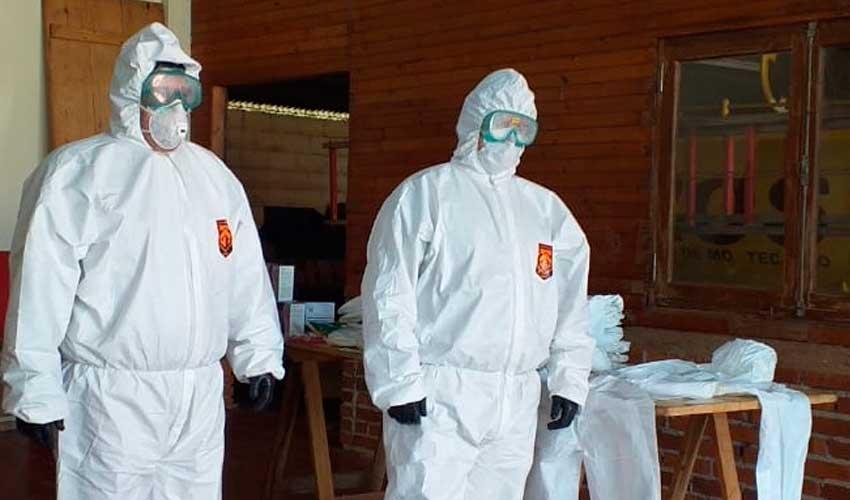 Bomberos Voluntarios de Montecarlo recibió la importante donación