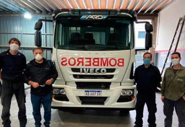 Bomberos de Villa Carlos Paz suman una nueva autobomba