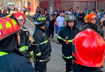 Dos bomberos de Santiago contagiados con coronavirus
