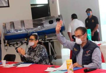 Bomberos de Tulancingo elaboran cápsula de traslado