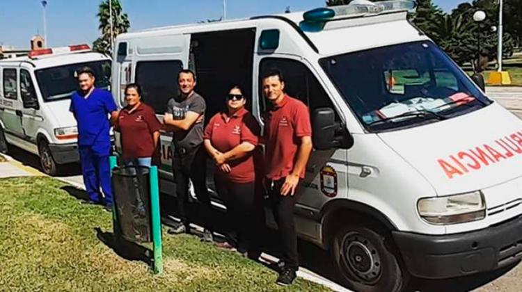 Compraron ambulancias para hacerle frente a la pandemia