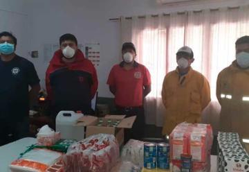 Bomberos Fiambalá recibió equipamiento de protección personal